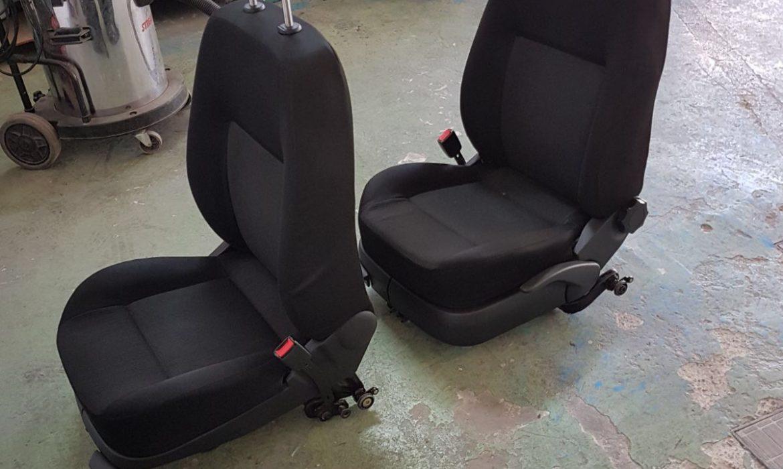Limpieza Interior con extracción de asientos